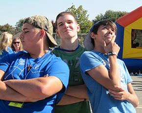 Rally 3 guys